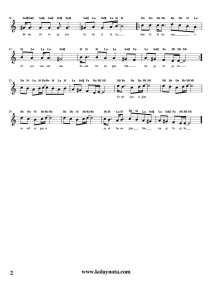 Gibi Gibi - Kolay Notası