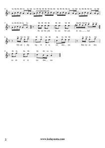 Yolcu - Kolay Bağlama Notası - 2