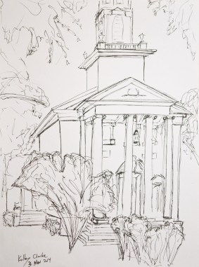 Drawing Class - Perkins Chapel