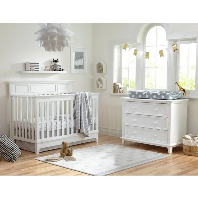 white 3 drawer dresser nursery