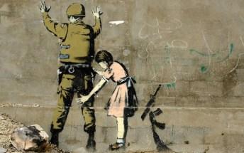 oeuvres de Banksy Militaire