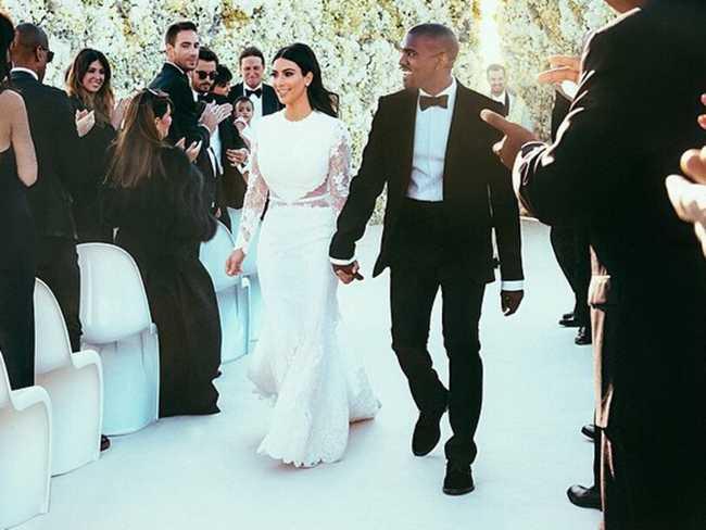 Kim Kardashian Kanye West Mariage