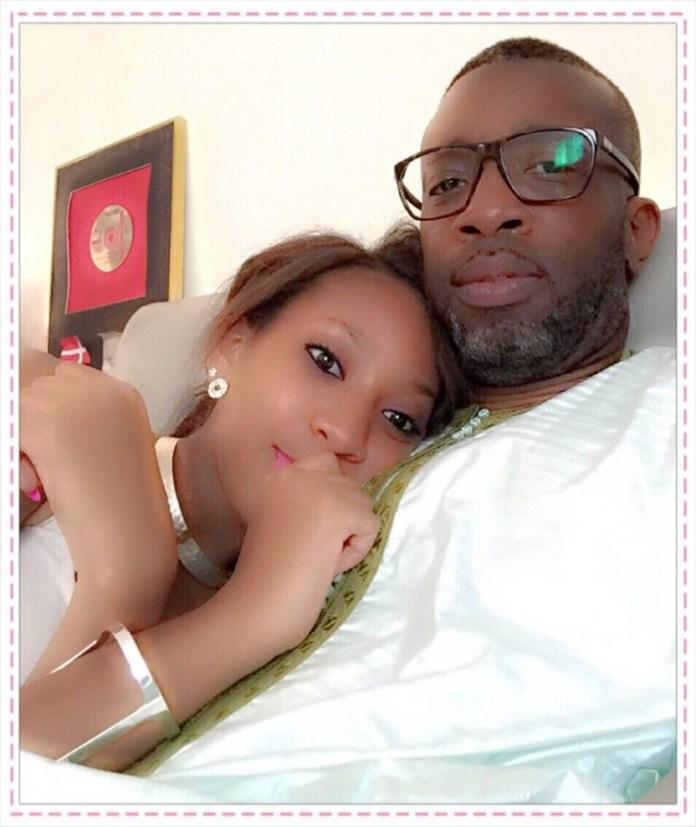 Bouba Ndour en compagnie de Zeyna Ndour sa fille avec Viviane Chidid