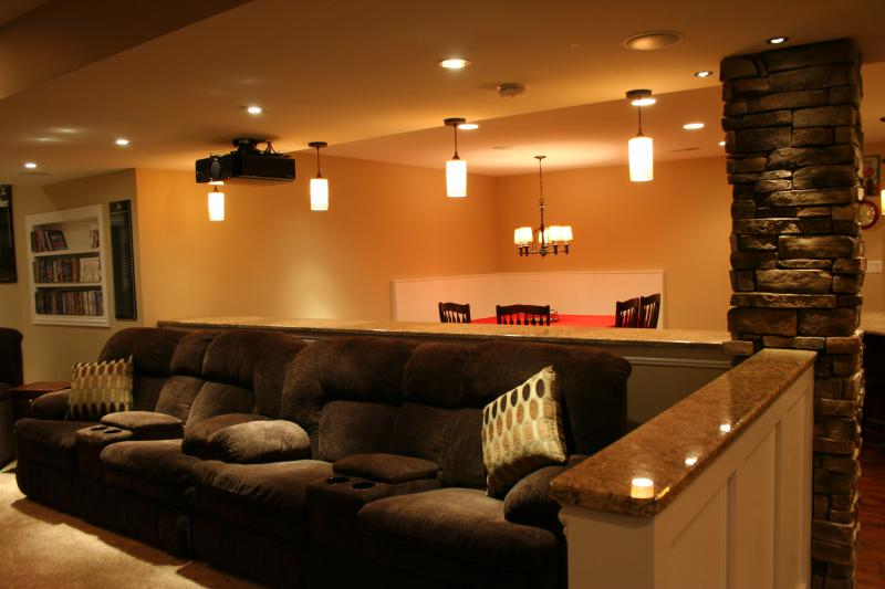 Open Concept Home Theaters  Kole Digital