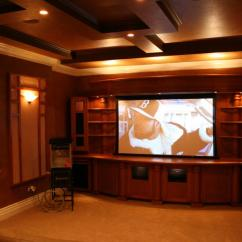 Leather Furniture Ideas For Living Rooms Wooden Units Room Contemporary Home Theaters | Kole Digital