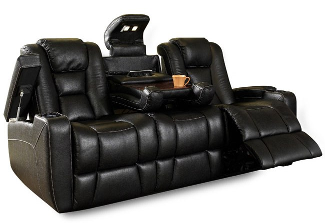 gray leather sofa images westlake outdoor wicker club chairs home theater seating and sectionals | kole digital