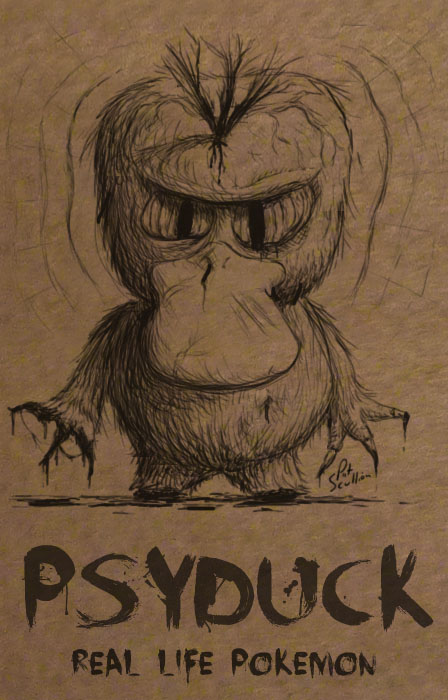 Psyduck - Real Life Pokemon /  Pat Scullion (CC BY-NC-ND 2.0)