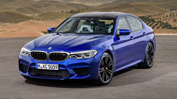 BMW M5front
