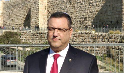 Mayor Moshe Leon (Photo: City Spokeswoman)