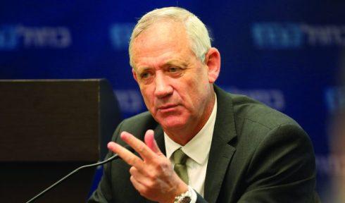 Defense Minister Bnei Gantz (Photo: Olivia Fitoussi)