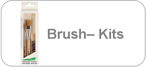 Brush Sets for school and hobby