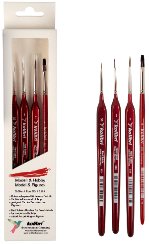 model painting brush kit