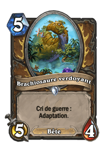 adaptation druide hearthstone
