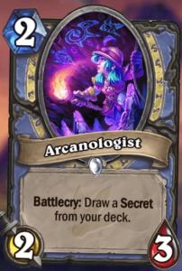 Arcanologist Hearthstone