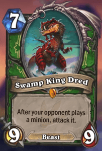 Swamp King Dred Hearthstone