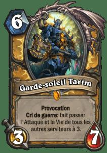 Garde-soleil Tarim