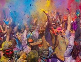 The history of Holi and its colorful celebration comes to New York City