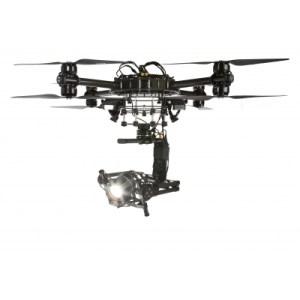 Stella Pro 5000d montiert auf Drohne