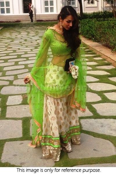 Bollywood Style Malaika Arora Khan Viscouse Georgette