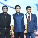 AR Rahman & Sachin Tendulkar at the launch of Sachin Sachin Song (1)