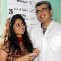 Ajith moves on a family trip!