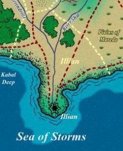 Mapa Illian