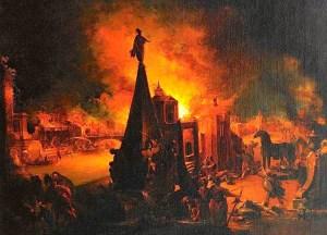 Płonąca Troja