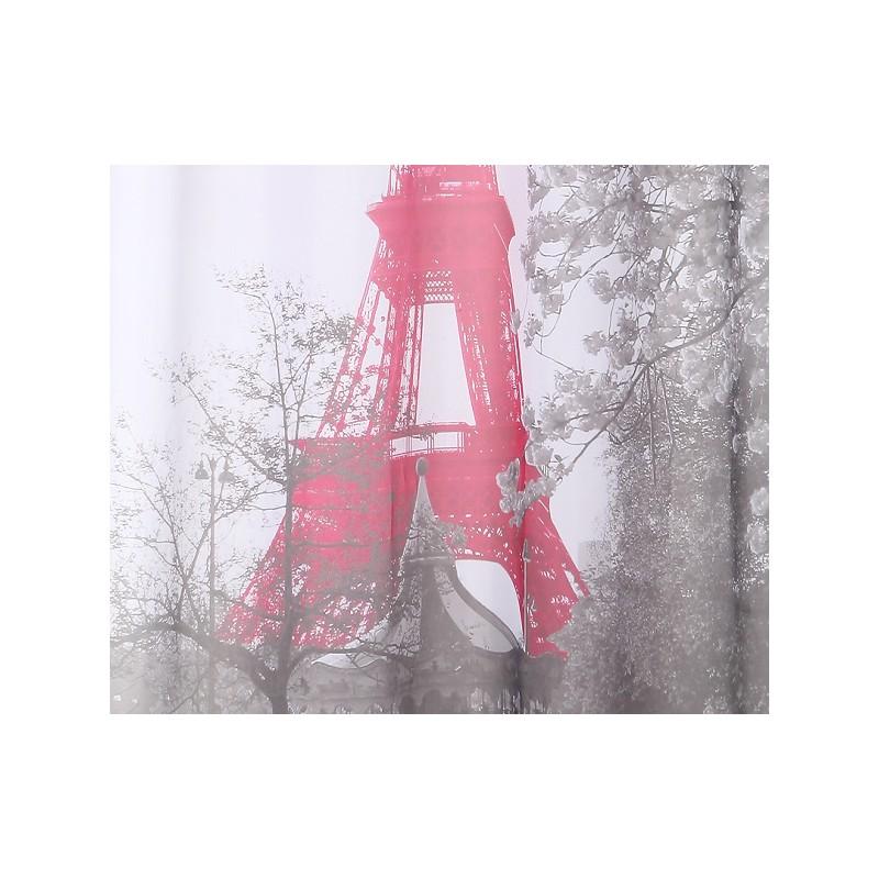 PARIS Voilage 140x250cm Dcoration Fentre Rideau Design