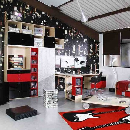 Chambre dado  ambiance studio  Kolorados