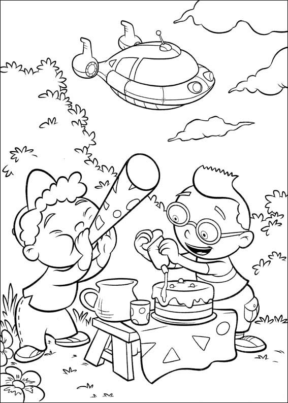 Free Printable Little Einsteins Coloring Pages