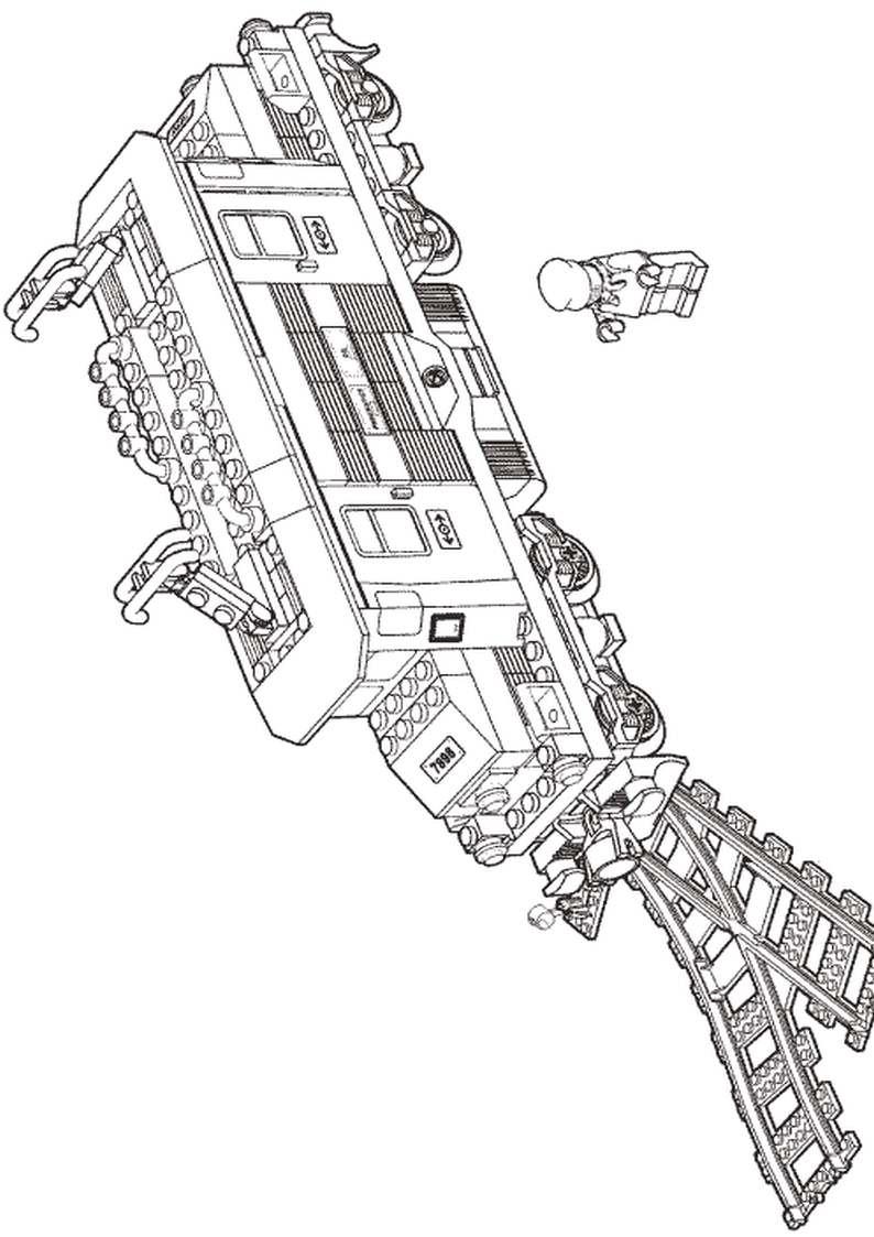 Ausmalbilder Zug Auto Electrical Wiring Diagram