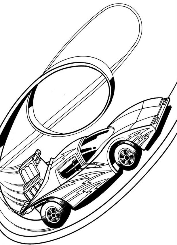 Kolorowanka Hot Wheels Malowanka Samochd Nr 10