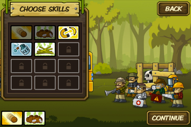Choose skills - mobile game for iPhone, game for iPad, game apps for Android