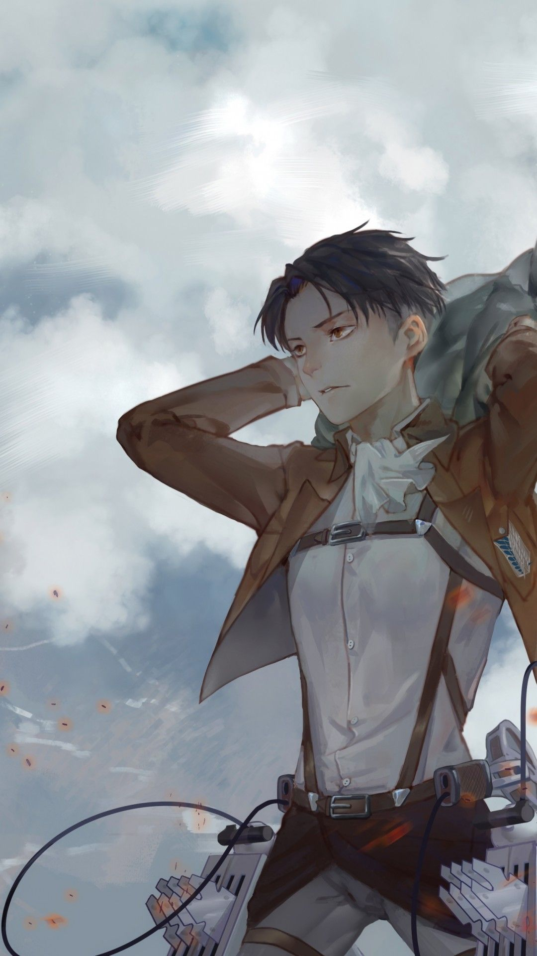 I was bored so i made a wallpaper for my lg shine in 2 min. Attack On Titan Levi Wallpaper - KoLPaPer - Awesome Free ...