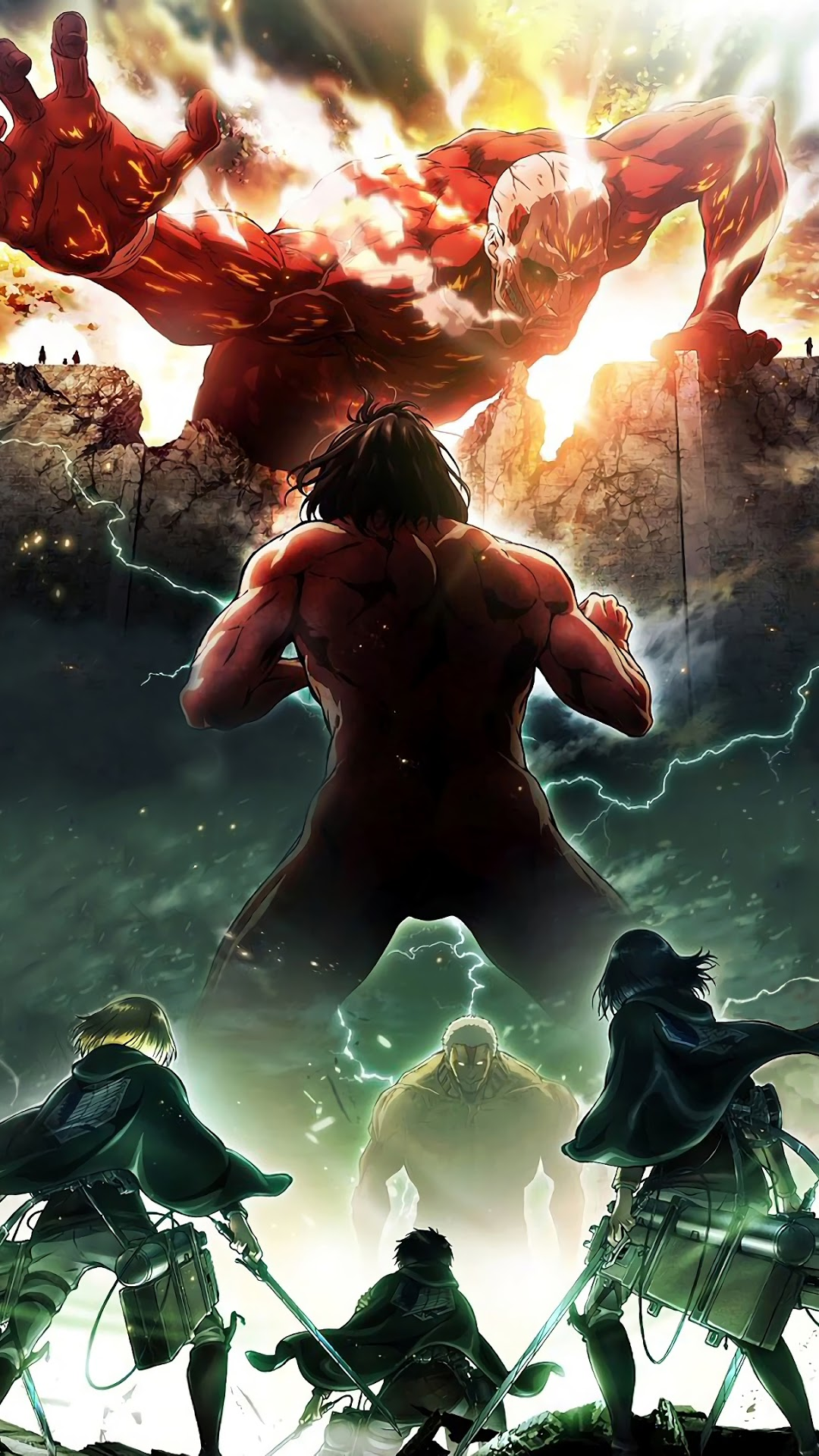 Here is a list of the most beautiful ocean wallpapers online that you can download for free for your computer, phone, or tablet. Iphone Attack On Titan Wallpaper - KoLPaPer - Awesome Free ...