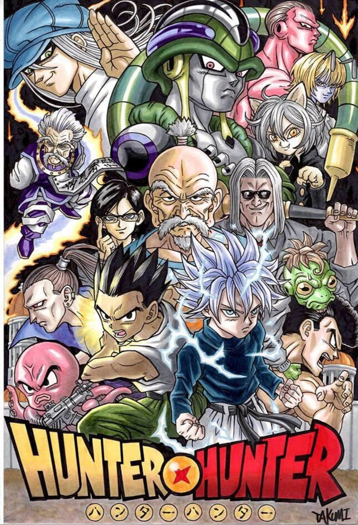 Make your device cooler and more beautiful. Awesome Hunter X Hunter Wallpaper 4K Android Images