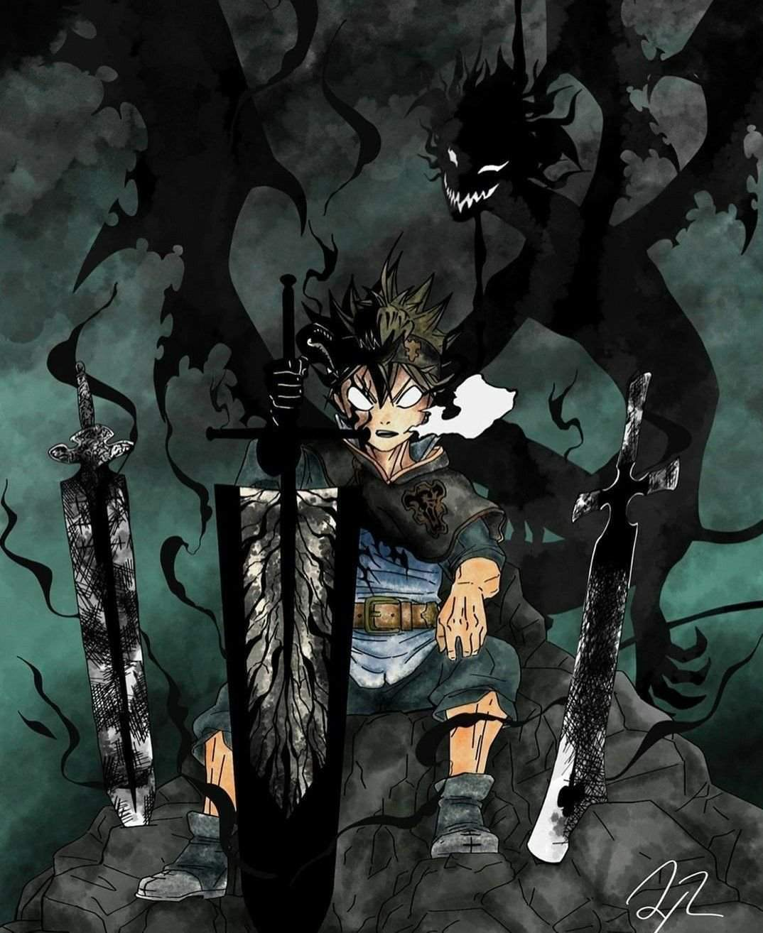 Live wallpaper is an exciting and novel way of spicing up your smartphone's home and lock screens. Black Clover Wallpaper - KoLPaPer - Awesome Free HD Wallpapers