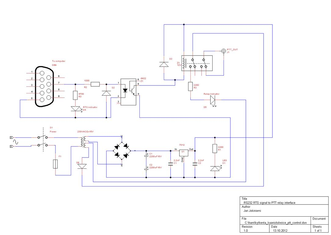 hight resolution of figure 2 ptt circuit for voicekeyer