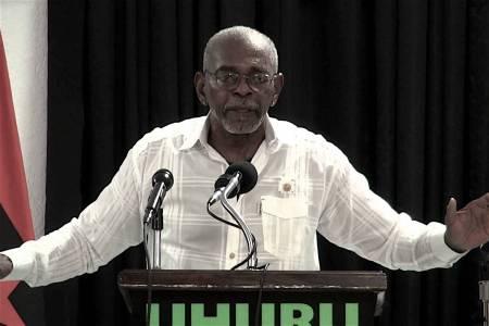 Uhuru Solidarity Movement (USM), African People's Socialist Party (APSP), Reparations, KOLUMN Magazine, Kolumn