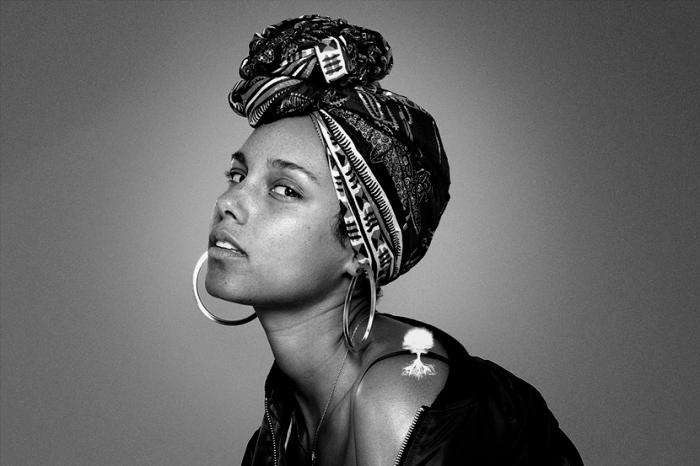 Alicia Keys, #NoMakeup Movement, African American Women, KOLUMN Magazine