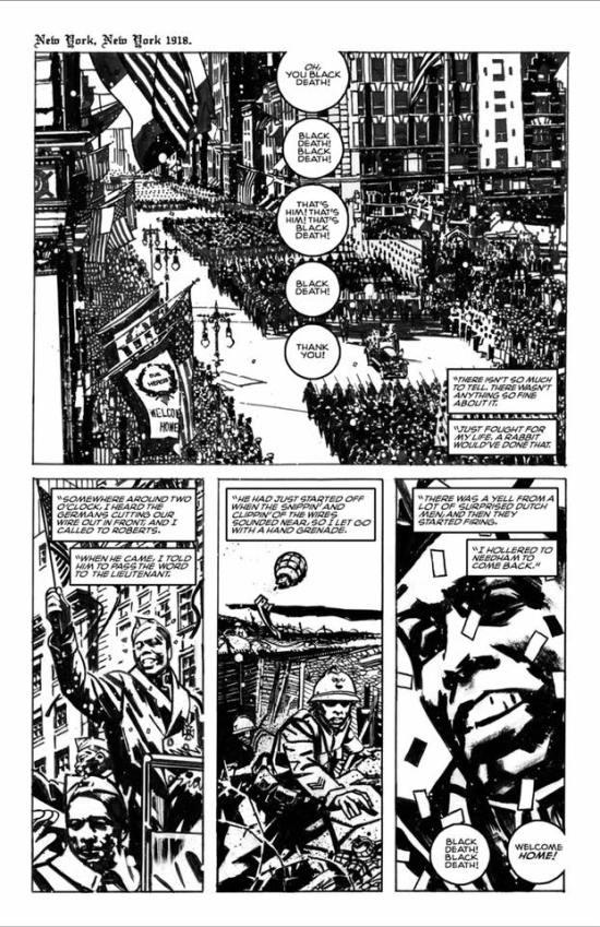 William Henry Johnson, Black Death In America, Tom King, John Paul Leon, African American Comic, KOLUMN Magazine