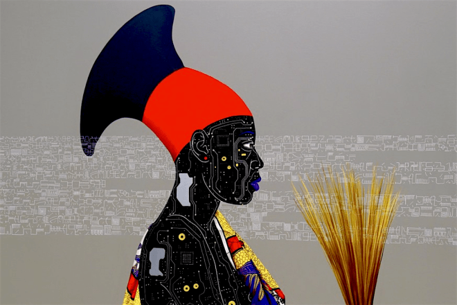Eddy Kamuanga Ilunga, African Art, African Artist, Democratic Republic of Kongo, KOLUMN Magazine, KOLUMN