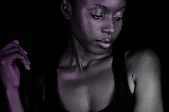 Dark Skinned African American Woman__02