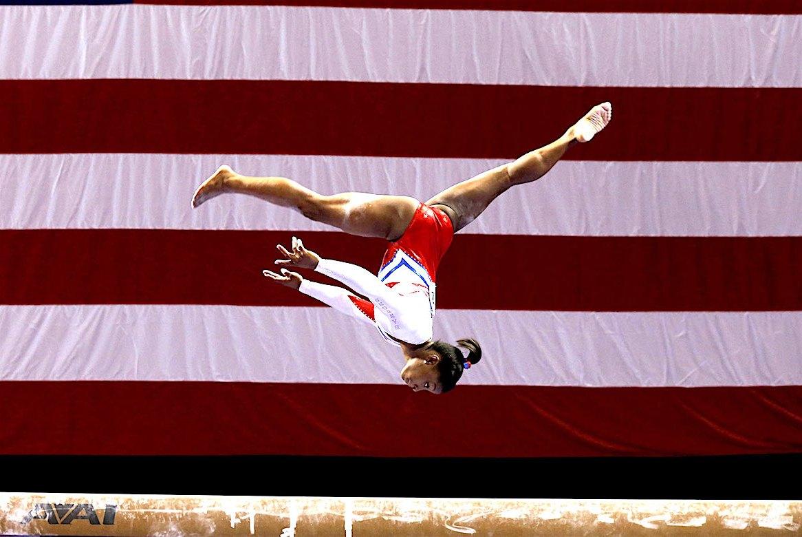 Simone Biles, African American Gymnast, 2016 Olympics, KOLUMN Magazine, KOLUMN