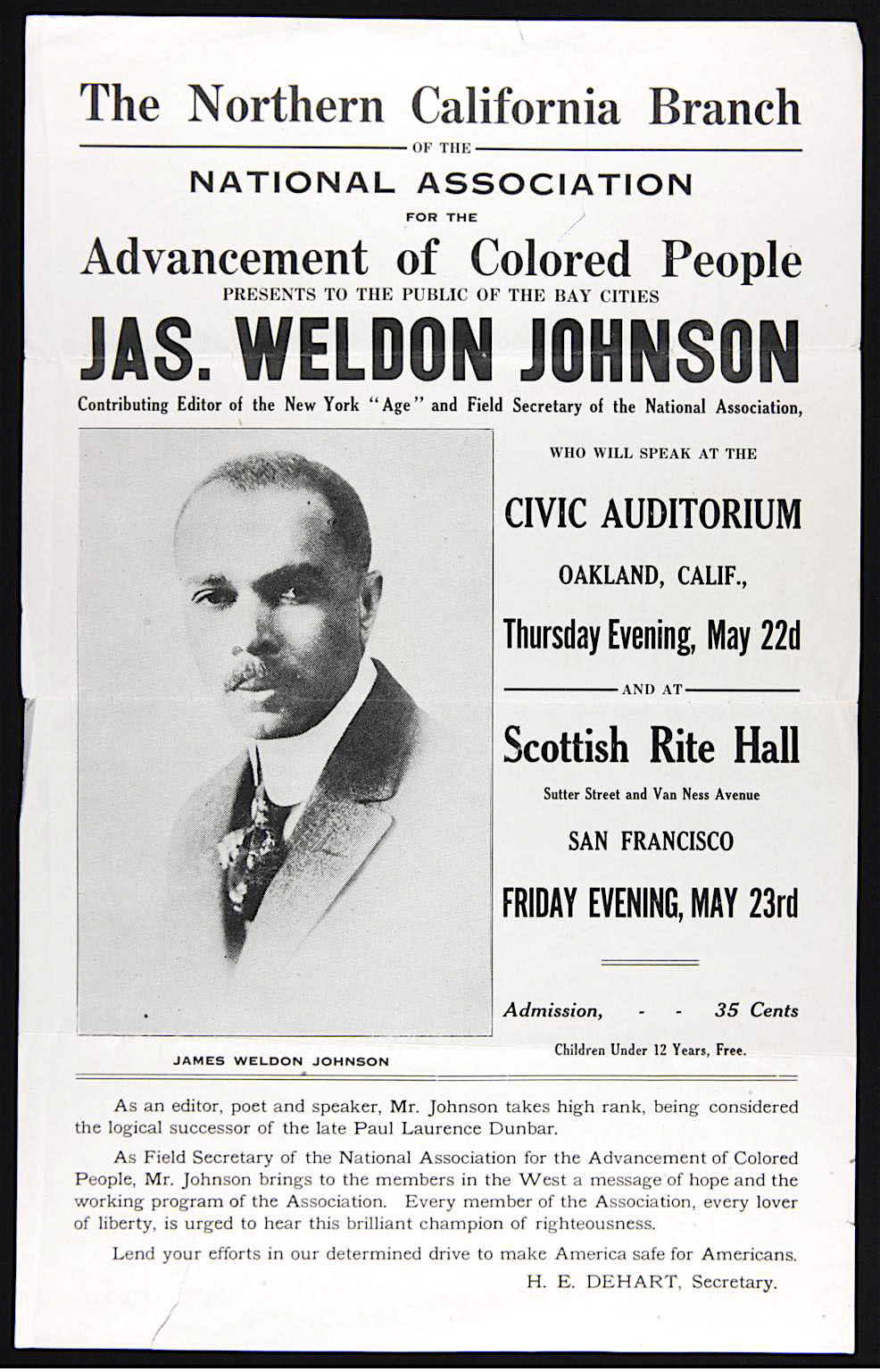 James Weldon Johnson, The Autobiography of an Ex-Coloured Man, Destined to Be Known: The James Weldon Johnson Memorial Collection at 75, KOLUMN Magazine, KOLUMN