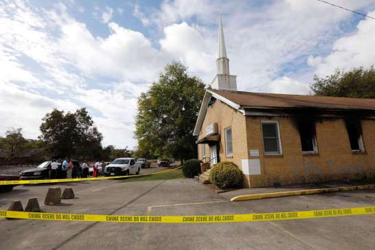 African American Church Fire, Black Church Bombing, Black Church Fire, Church Arson, Hopewell Missionary Baptist Church, KOLUMN Magazine, KOLUMN