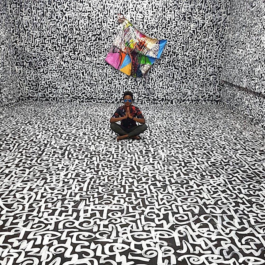 ART X Lagos, African Art, African Art Fair, Victor Ehikhamenor, KOLUMN Magazine, KOLUMN