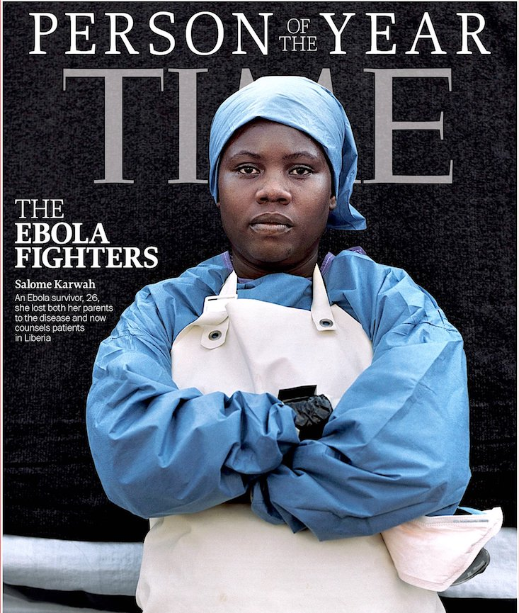 Liberia, Sierra Leone, Ebola, Salome Karwah, Time Magazine, Partners In Health, World Health Organization, WHO, KOLUMN Magazine, KOLUMN