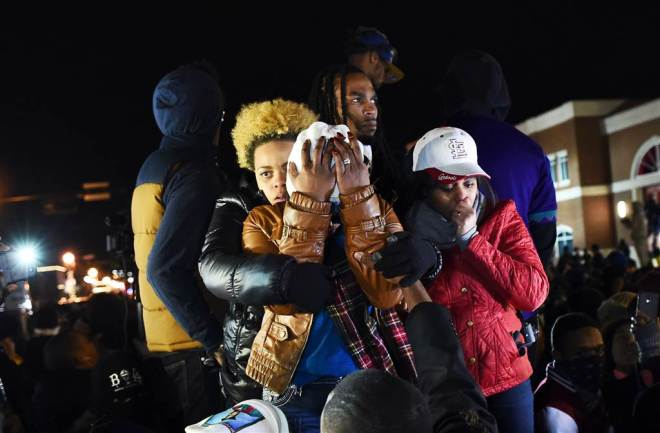 Ferguson, Black Lives Matter, Michael Brown, Hands Up Don't Shoot, Hands Up Don't Vote, KOLUMN Magazine, KOLUMN