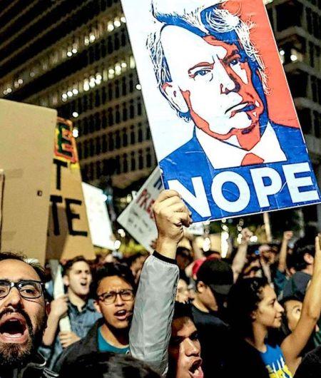 Trump Rally Protest, Trump Protesters, Hate Groups, KOLUMN Magazine, KOLUMN